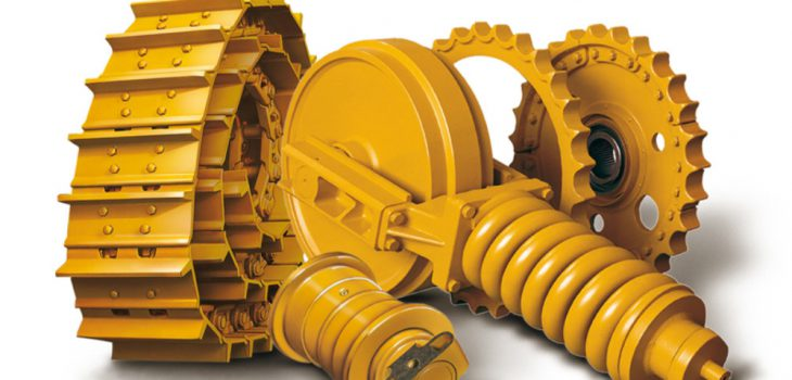 Undercarriage spare parts