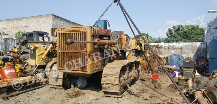 Bulldozer workshop