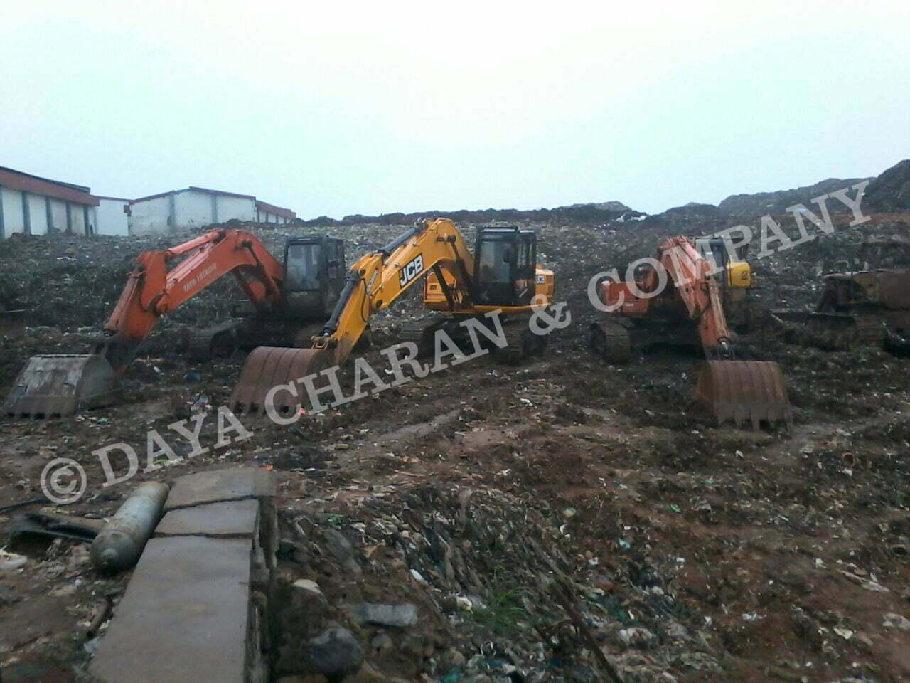 Landfill Construction waste
