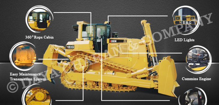 HBXG New bulldozer benefits