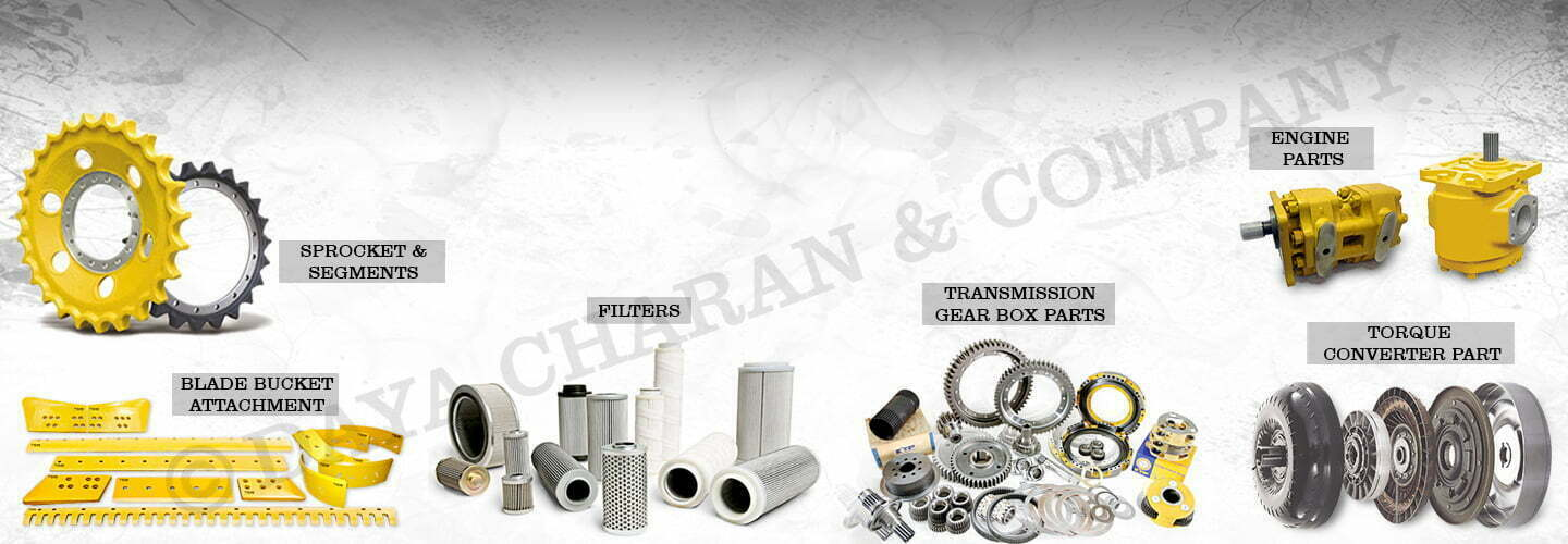 Heavy machine Spare Parts