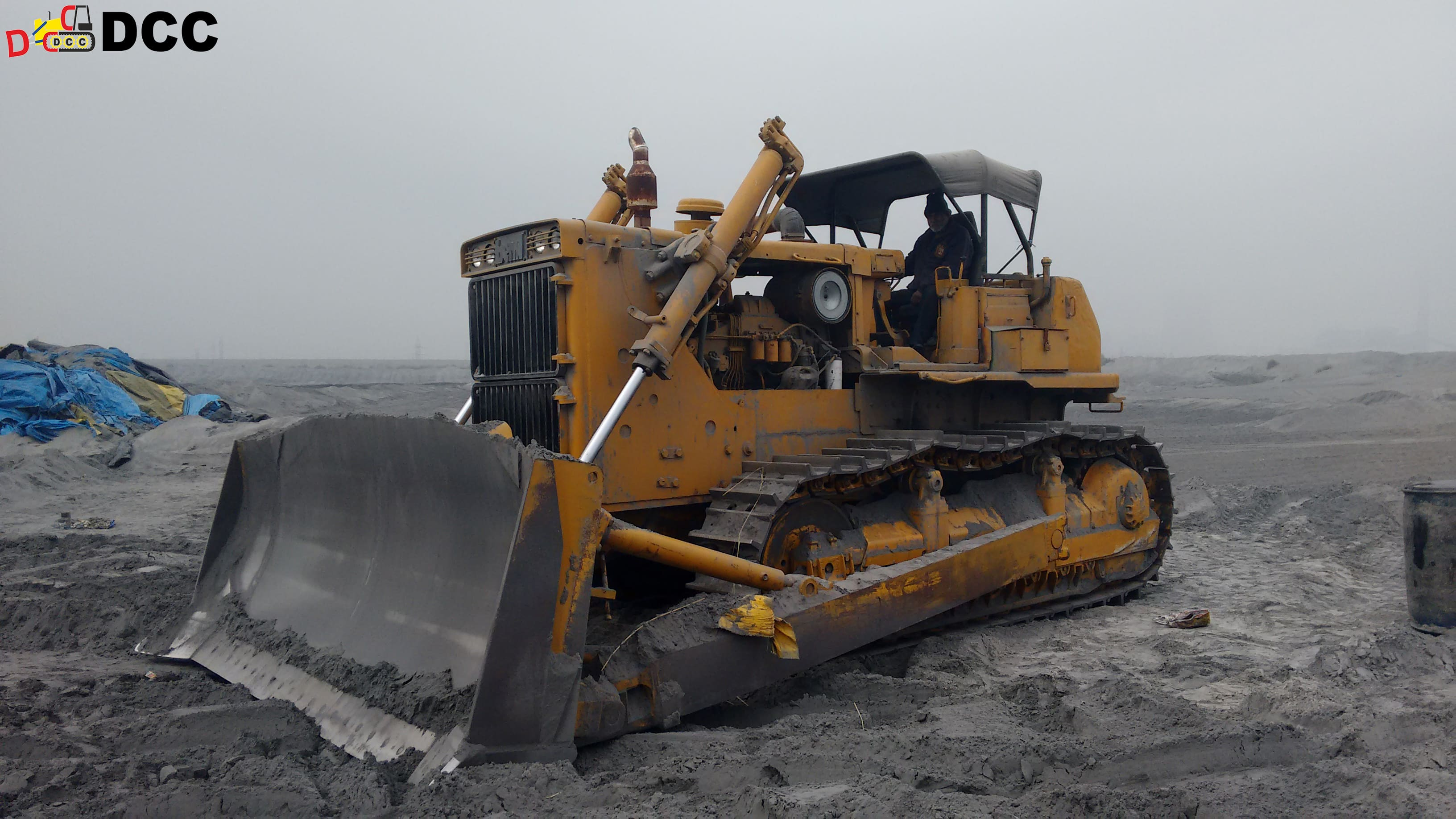 D155 Bulldozer - BEML 2