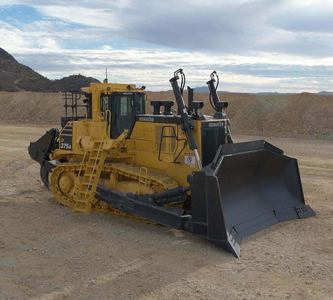 Bulldozer D375